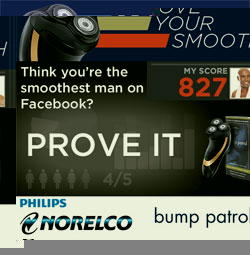 Philips Norelco and Bump Patrol search for the Smoothest Man