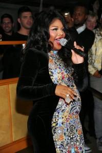 Lil Kim Pregnant