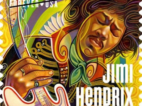 Jimi Hendrix USPS Stamp