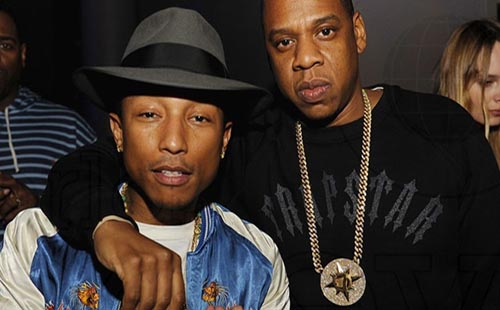 Jay-Z Wearing Five Percent Nation Chain Medallion