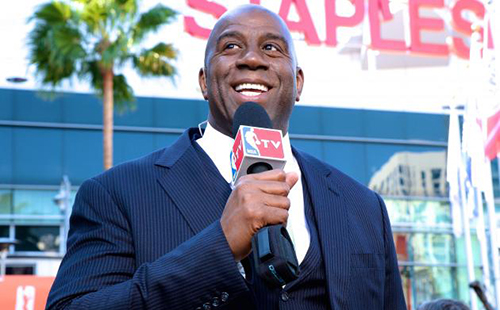 Magic Johnson Buying LA Clippers