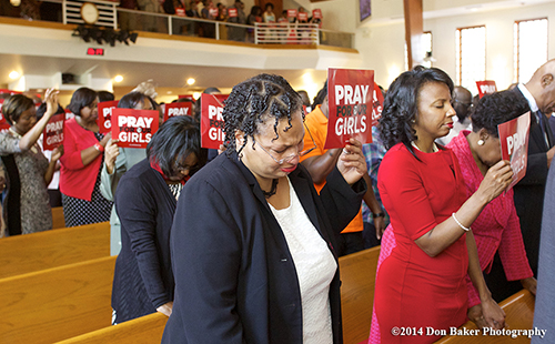 History Black Church Prayer Vigil For Missing Nigerian Girls