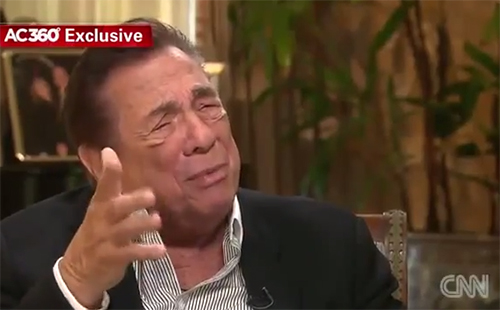 Donald Sterling Takes Shot at Magic Johnson
