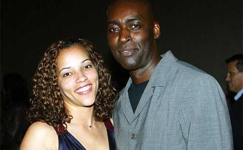 Actor Michael Jace With Wife
