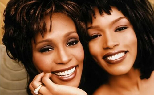 Whitney Houston and Angela Bassett