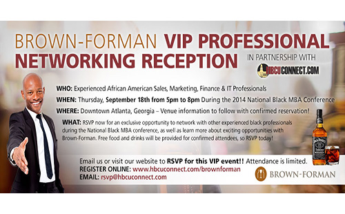 Brown-Forman VIP Professional Networking Reception