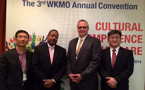 Ken Brown at WKMO Convention