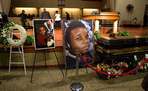 Michael Brown Funeral