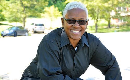 Joani Ward, author of Black Girls Gone Blonde