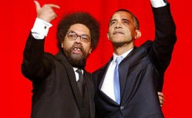 Cornel West With Obama