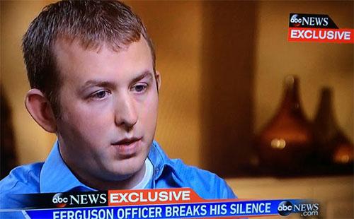 Darren Wilson, ABC News Interview