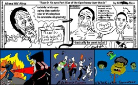 Alienz With Afros Bill Cosby Comic