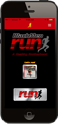 Black Men Run App