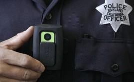 Body Camera Worn by Police