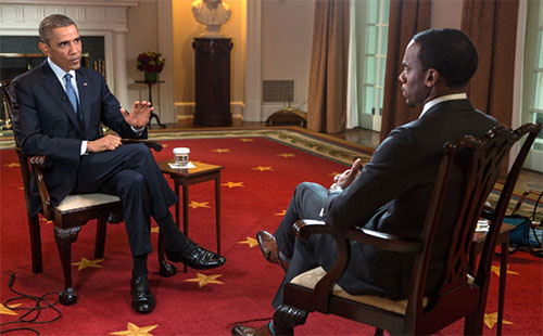 President Obama's BET Interview With Jeff Johnson