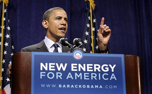 President Obama Speaking on Energy