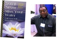 Bookcover and author, Craig A. Garner