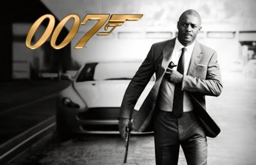 Idris Elba as James Bond 007
