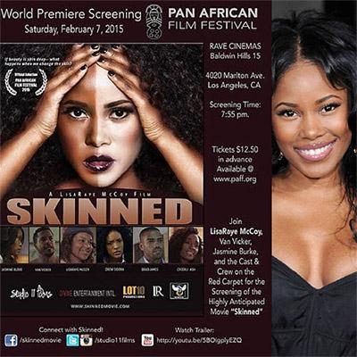 Skinned Movie Starring Jasmine Burke