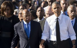 Obama Leads March in Selma