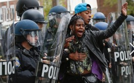 Baltimore Riots About the Death of Freddie Gray