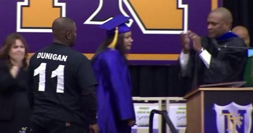 Katherine Jackson Accepts Diploma on Behalf of Her Son