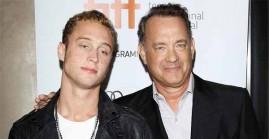 Chet Hanks with Dad, Tom Hanks