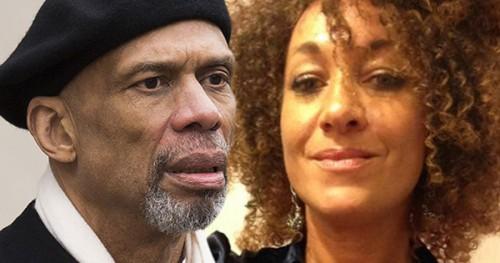Kareem Abdul-Jabbar and Rachel Dolezal