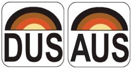 DUS and AUS logos