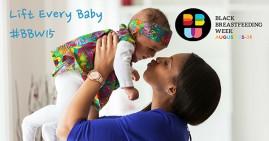 Baby Lift Up Celebration During Black Breastfeeding Week