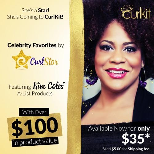 Kim Coles, CurlKit