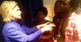 Hillary Clinton Meeting With Black Lives Matter Activists