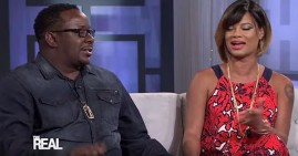 Bobby Brown, interview on The Real