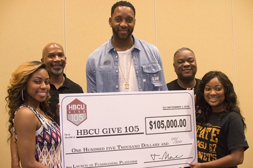 "Tracy ""T-Mac"" McGrady wants to raise $1M per HBCU"