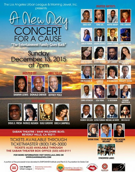 A New Day Concert For A Cause