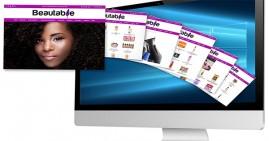 Beautable.com Web Site Snapshot
