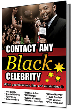 Contact Any Black Celebrity E-Book