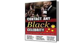 Contact Any Black Celebrity E-Book