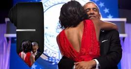 Obamas dancing neckties