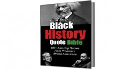 First-Ever Black History Quote Bible