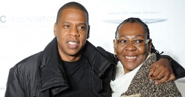Rapper Jay-Z and His Mom