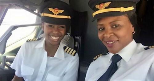 Captain Elizabeth Simbi Petros and Captain Chipo M. Matimba