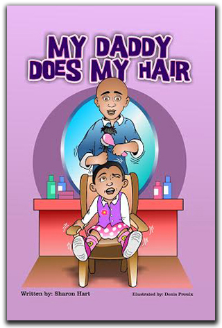 My Daddy Does My Hair Book