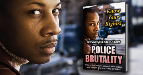 Know Your Rights! Police Brutality E-Book
