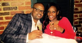 Black Couple Engaged