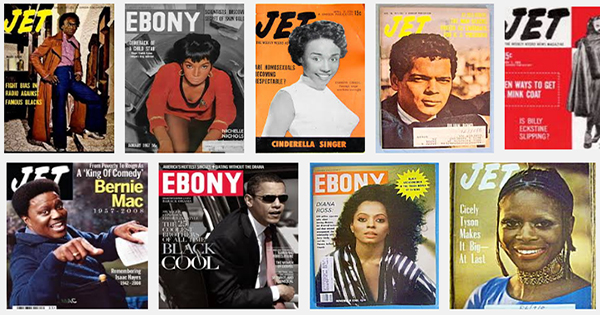 Ebony and Jet Magazines
