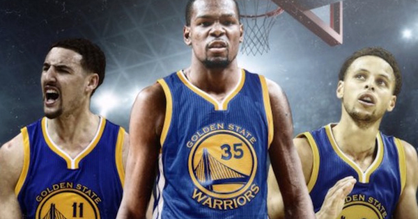 Kevin Durant joins Golden State Warriors