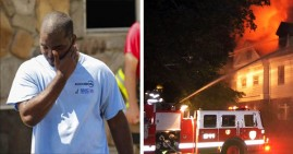 Kenneth Walker, firefighter whose home was burned down