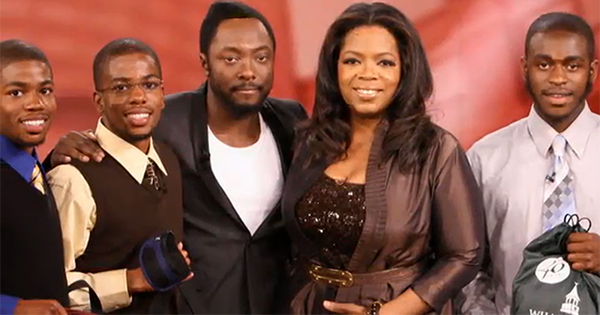 Will.i.am and Oprah giving away scholarships to African American students