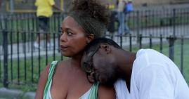 Alfre Woodard and Gbenga Akinnabe star in Knucklehead